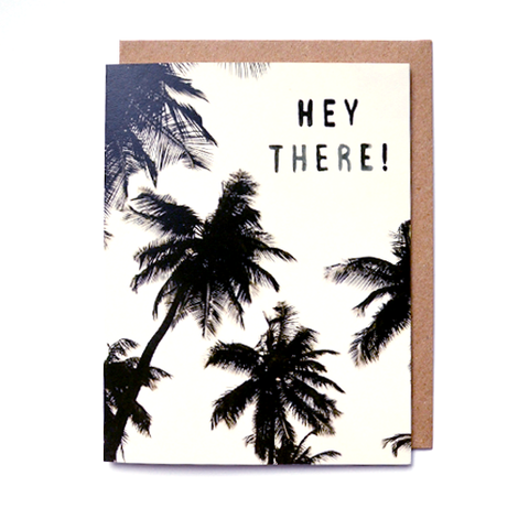 HEY THERE - Card