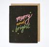 Merry and bright - Card