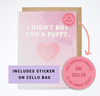 Puppy birthday - Card