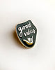 GOOD VIBES - Enamel Pin