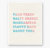 SALTY BREEZE - Art print - 8x10