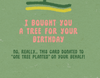 FAVORITE HIPPIE BIRTHDAY - Card