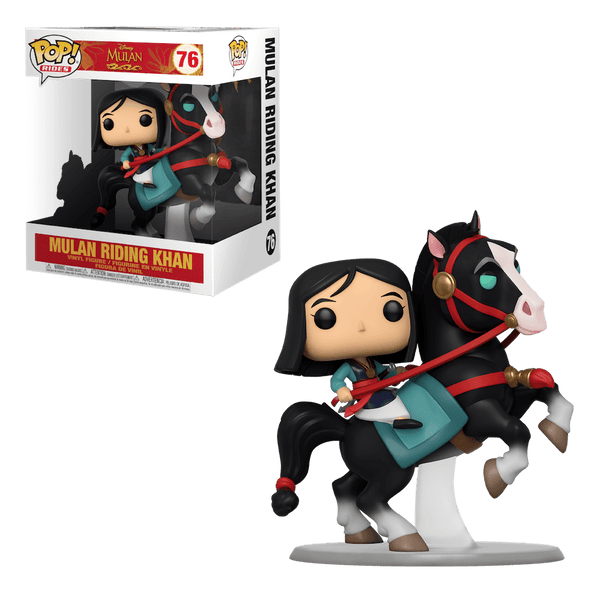 POP Rides: Mulan - Mulan on Khan - Fandom