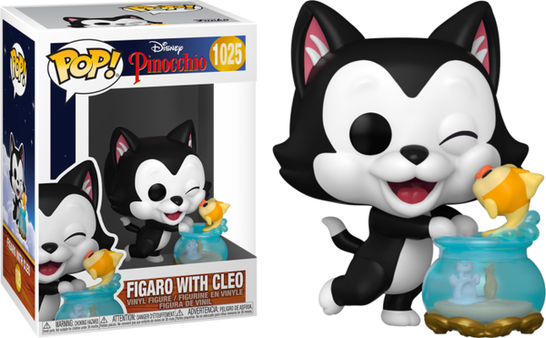 POP Disney:Pinocchio- Figaro Kissing Cleo