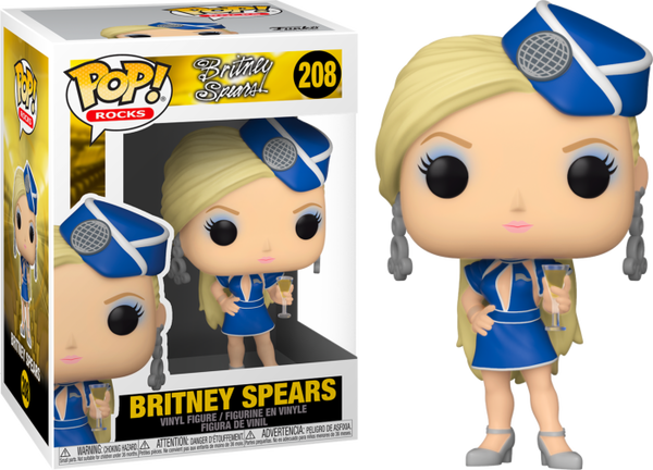 POP Rocks: Britney Spears- Stewardess