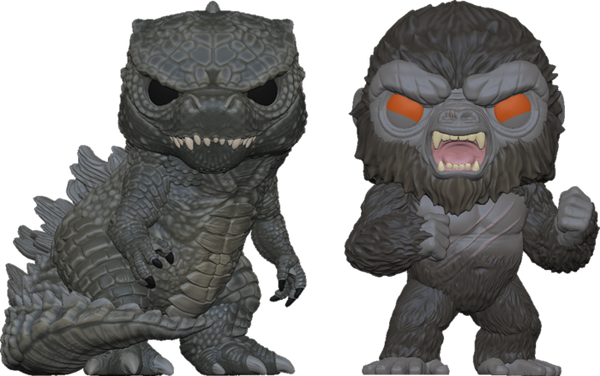 POP Movies: 2PK Godzilla Vs Kong (Exc)