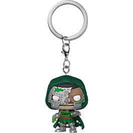POP Keychain: Marvel Zombies- Dr. Doom