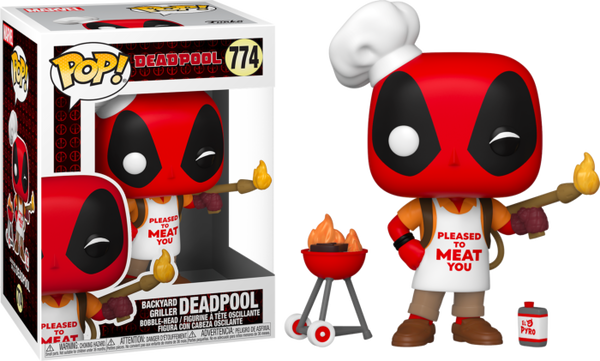 POP Marvel: Deadpool 30th- Backyard Griller Deadpo
