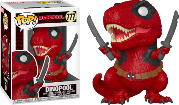 POP Marvel: Deadpool 30th- Dinopool