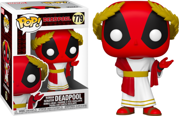 POP Marvel: Deadpool 30th- Roman Senator Deadpool