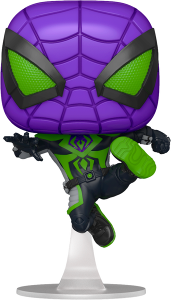 POP Games: Miles Morales- Miles (Purple Reign Suit)