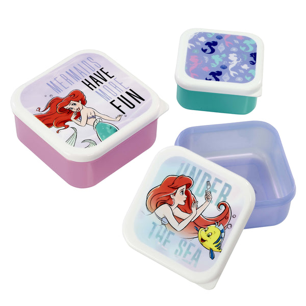 Little Mermaid - Plastic Storage Set - Under The Sea - Fandom