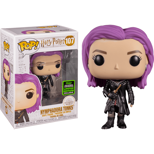 Pop HP:  Nymphandora Tonks (ECCC Exc) - Fandom