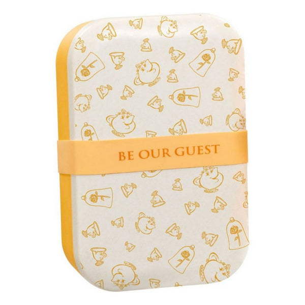 Disney: Colour Block: Bamboo Lunch Box: Be Our Guest