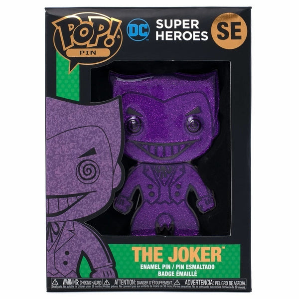 Funko Pop! Pin DC Comics:Joker (Chase)