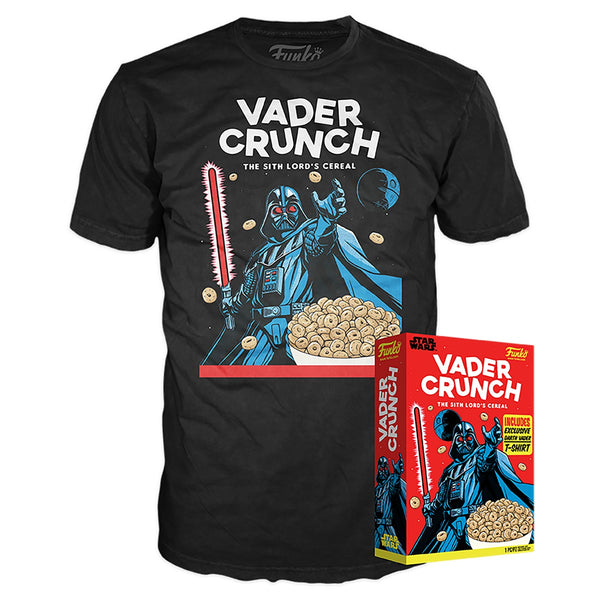 Boxed Tee: SW Vader Crunch (Exc)