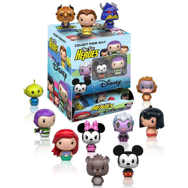 Pint Sized Heroes: Disney: Blindbags 24pc PDQ (CDU 24) - Fandom