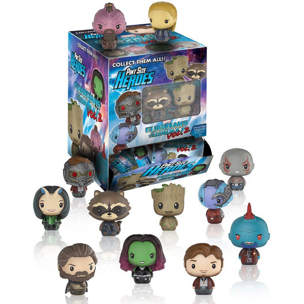 Pint Sized Heroes: Marvel: Guardians O/T Galaxy 2: Blindbags 24pc PDQ (CDU 24) - Fandom