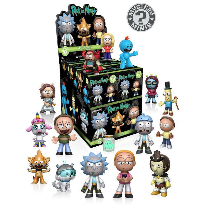 Mystery Mini Blind Box: Rick & Morty: PDQ (CDU 12) - Fandom