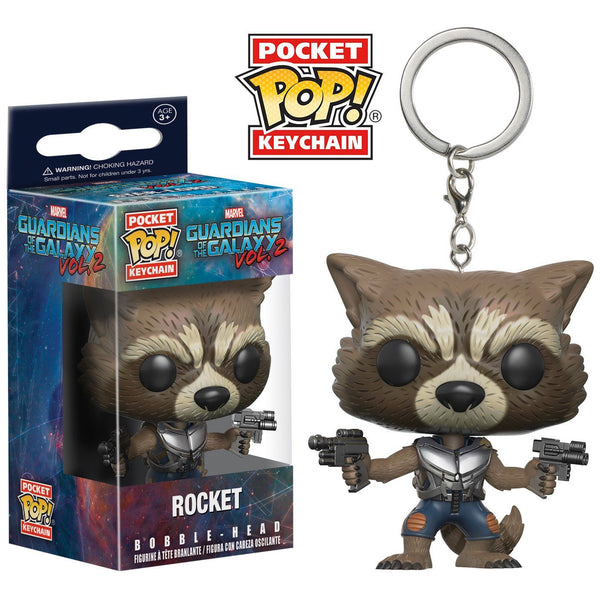 Pocket POP! Keychain: Marvel: Guardians O/T Galaxy 2: Rocket - Fandom