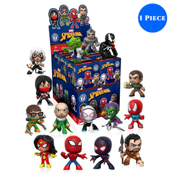 Mystery Mini Blind Box: Marvel: Spider-Man Classic: PDQ (CDU 12) - Fandom