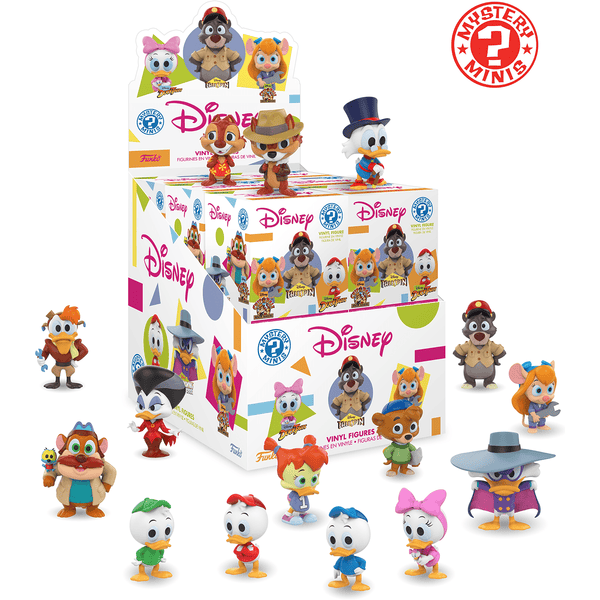 Mystery Mini Blind Box: Disney: Afternoons: PDQ (CDU 12) - Fandom
