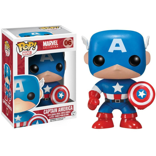 POP Marvel : Captain America - Fandom