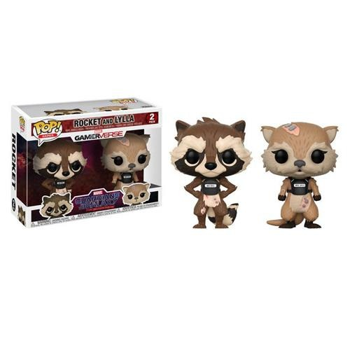 Pop  Marvel Games: GOTG TT: Rocket & Lyla 2PK - Fandom