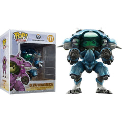 "POP Games: Overwatch S3 - Pop & Buddy - 6"" D.Va & Mech (Blue) (Exc) - Fandom"