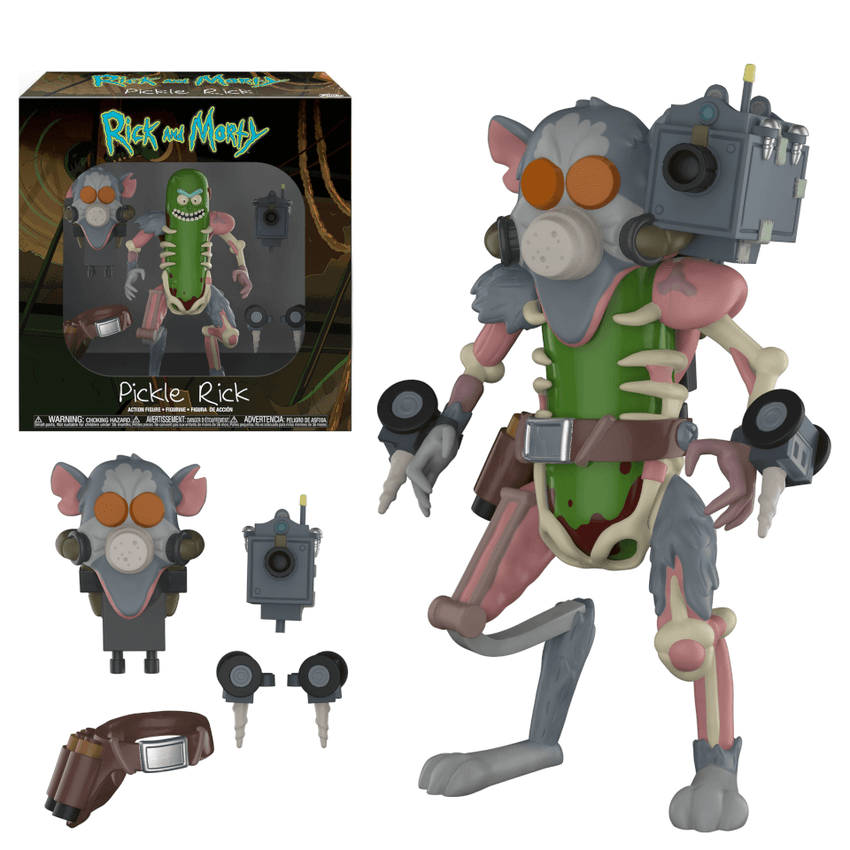 Action Figure: Rick & Morty - Pickle Rick - Fandom