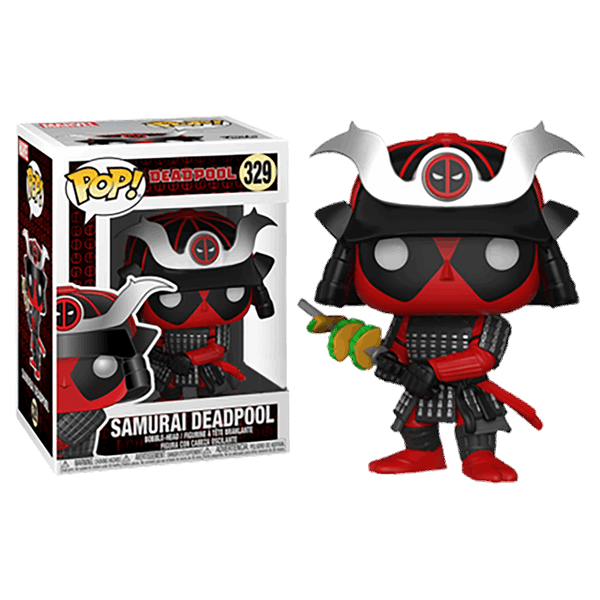 POP Marvel: Deadpool Playtime -Deadpool Samurai (Exc) - Fandom