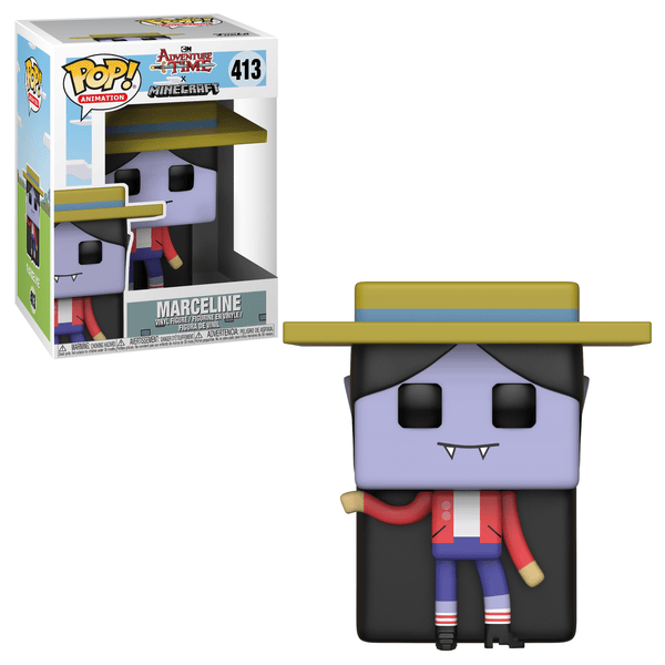POP TV: Adventure Time/Minecraft S1 - Marceline - Fandom