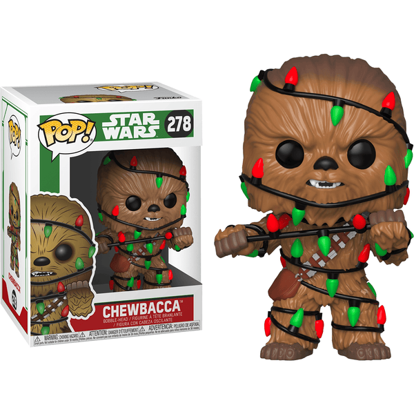 POP Star Wars: Holiday - Chewie w/Lights - Fandom