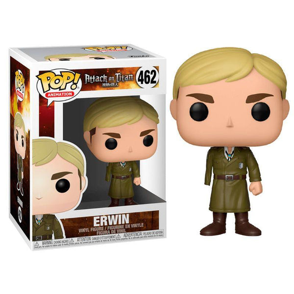 Pop Animation: AoT S3 - Erwin (One-Armed) - Fandom