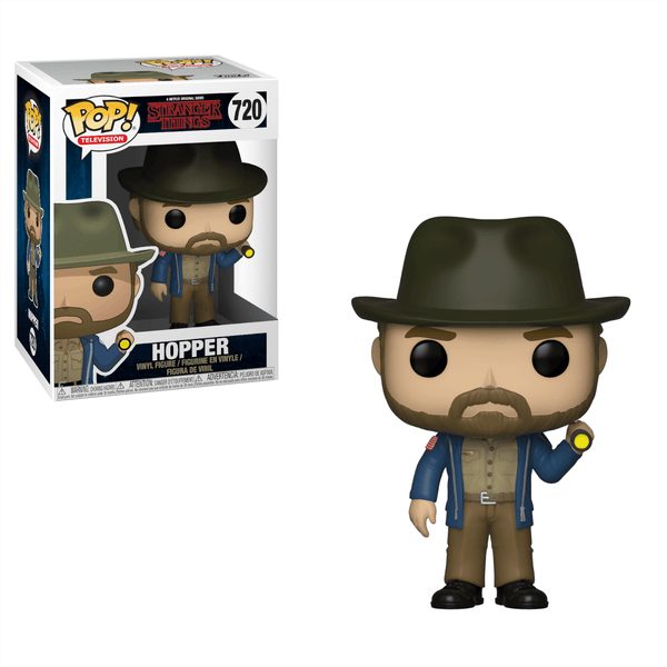 POP Television: Stranger Things - Hopper w/ Flashlight - Fandom