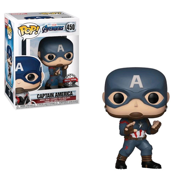 POP!: Marvel - Avengers: End Game - Captain America (EXC) - Fandom