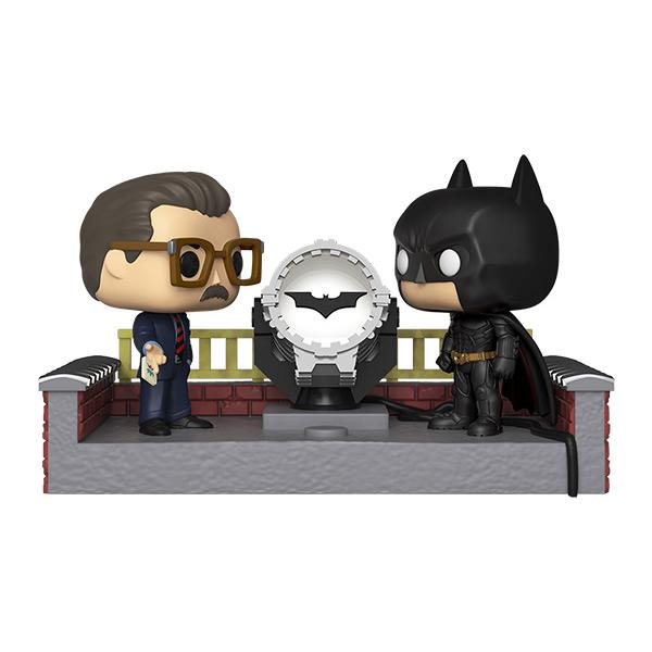 POP Movie Moment: Batman 80th - w/ Light Up Bat Si - Fandom