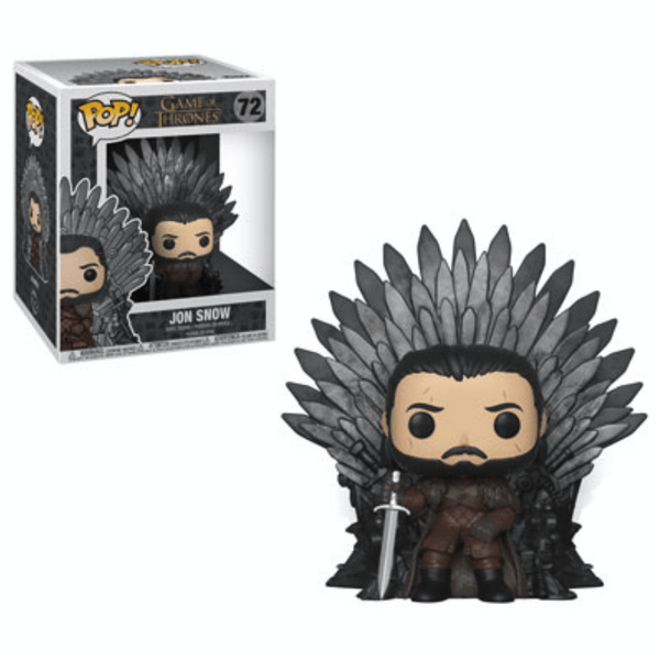 POP Deluxe: GOT S10 - Jon Snow Sitting on Iron Throne - Fandom