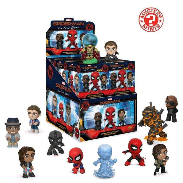 Mystery Minis: Spiderman Far From Home 12PC PDQ - Fandom