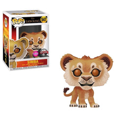 Pop Disney: The Lion King - Simba Flocked (Exc) - Fandom
