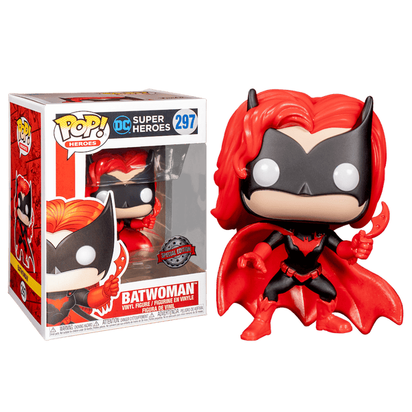 POP Heroes: DC - Batwoman (Action Pose) (Exc)