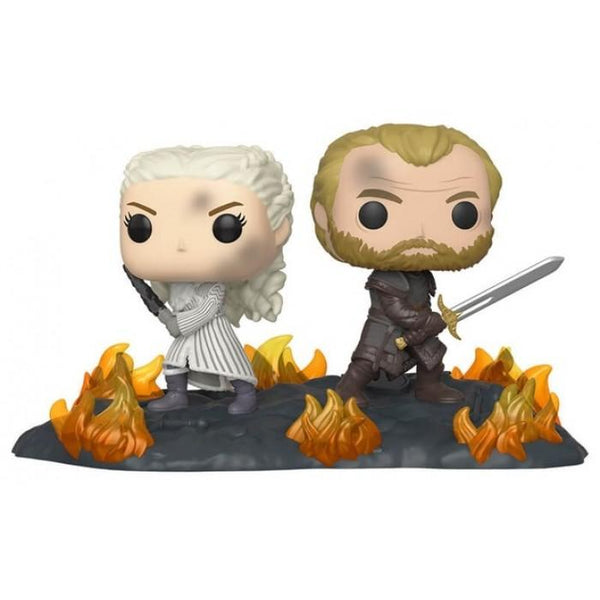 POP Moment: GoT - Daenerys & Jorah B2B w/Swords - Fandom