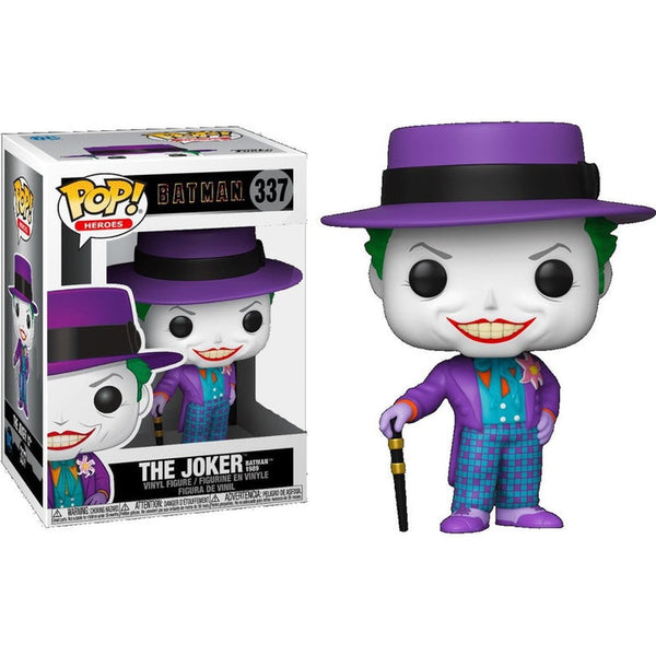 POP Heroes:Batman 1989-Joker w/Hat w/Chase