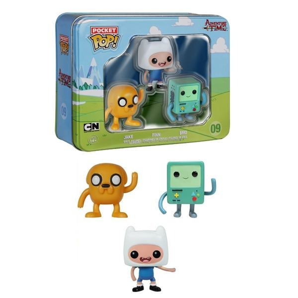 Pocket Pop! Adventure Time 3 Pack Tin - Jake, Finn, and BMO - Fandom