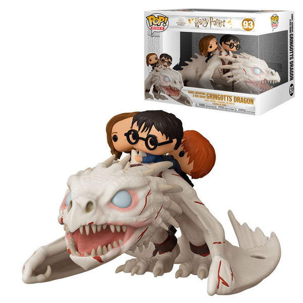 POP Ride: Dragon w/Harry, Ron, & Hermione
