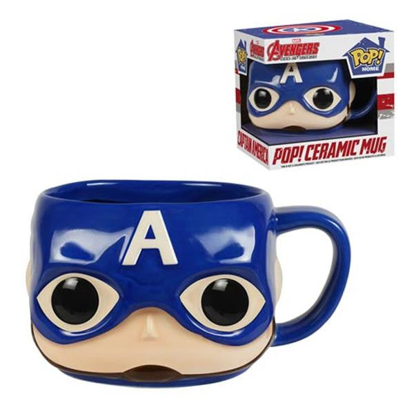 POP Home: Avengers 2 - Captain America Mug - Fandom