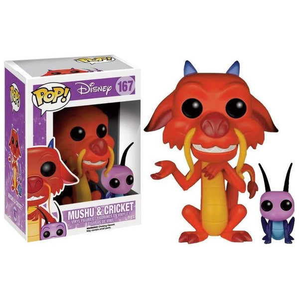 POP Disney: Mulan - Mushu & Cricket - Fandom