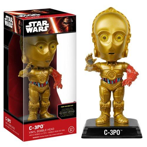 Wacky Wobbler Star Wars: The Force Awakens C-3Po Bobble Head - Fandom