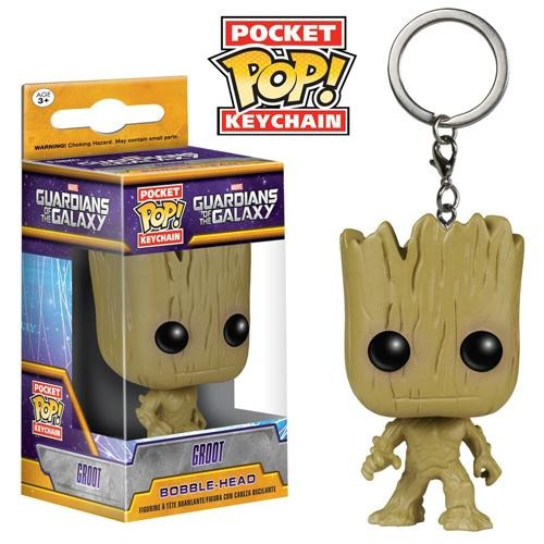 Pocket POP! Keychain: Guardians of the Galaxy - Groot - Fandom