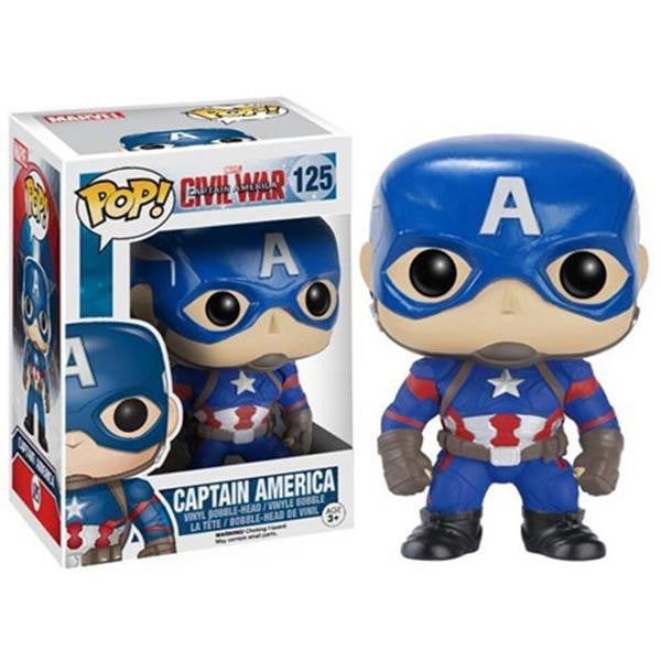 POP Marvel: Civil War - Captain America - Fandom